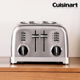 쿠진아트 토스터기 메탈클래식 4구 CPT-180KR + 커피