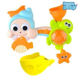 목욕놀이 바다친구들 샤워기/아기 물놀이 장난감