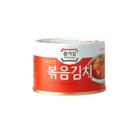 고소한맛 종가집 볶음김치160g(캔) 6캔