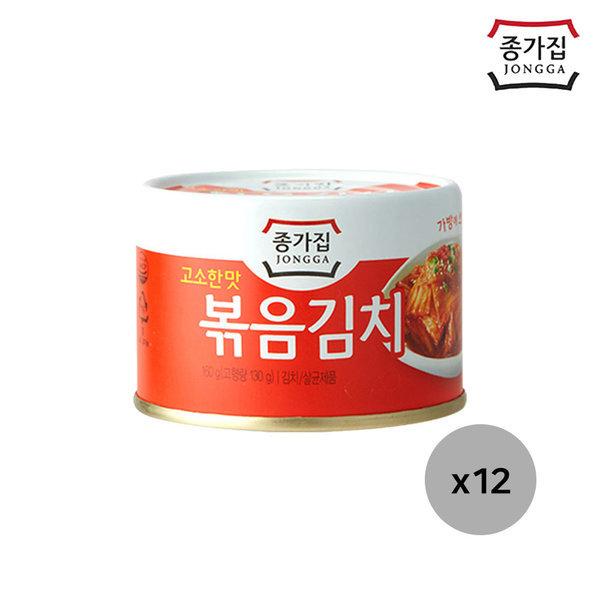 고소한맛 종가집 볶음김치160g(캔) 12캔 상품이미지