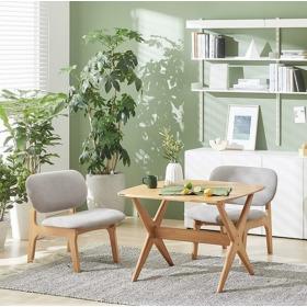 포레 릴렉스 NEW 컬러 2인 식탁세트(의자2포함)_DIY