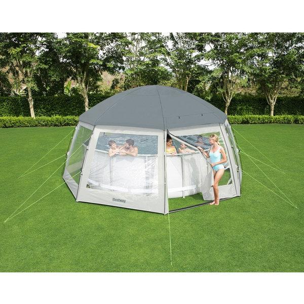 58612 수영장용 돔/지름 6m까지 대형 수영장용 텐트 상품이미지