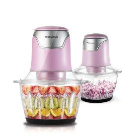 대우 전동 다지기(핑크) 마늘 야채 이유식 믹서기