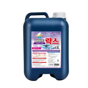슈퍼워시 락스 대용량 13L/욕실 화장실 살균 소독 표백
