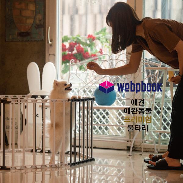 프리미엄 애완동물 강아지 애견하우스 울타리세트 상품이미지