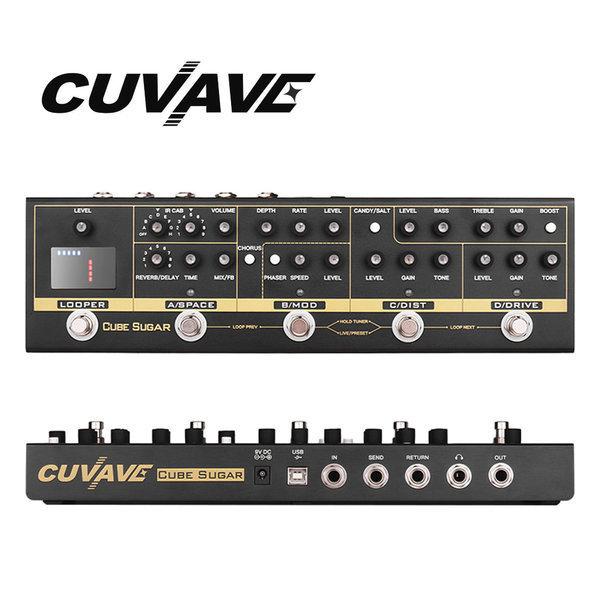 큐베이브 멀티 기타 이펙터 루프스테이션 CUBE SUGAR 상품이미지