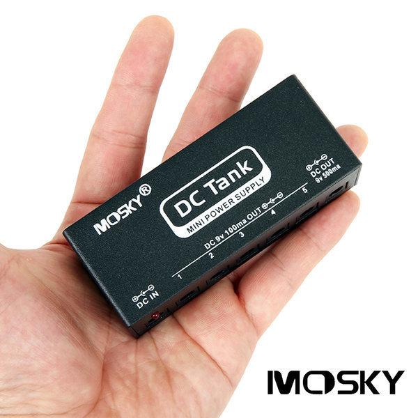 모스키 이펙터 페달 미니 파워서플라이 DC-TANK (6구) 상품이미지