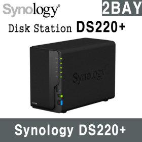 Synology DS220+  NAS 2베이 기본메모리 2G 하드미포함