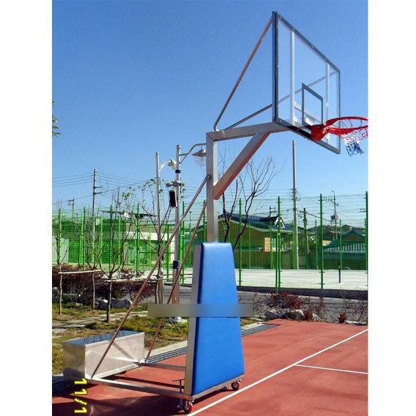 국민체육진흥공단 디자인A형 스텐 이동식 농구대 1대 상품이미지