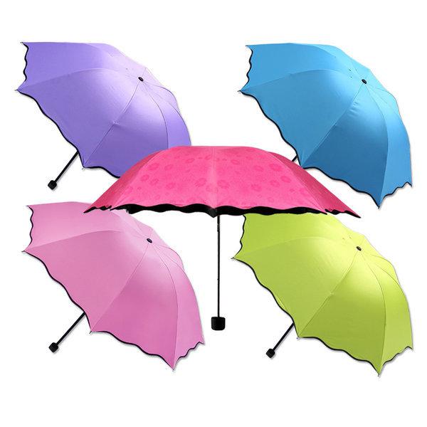햄머우산 플라워 암막양우산 자외선차단 양산 우산 꽃 상품이미지