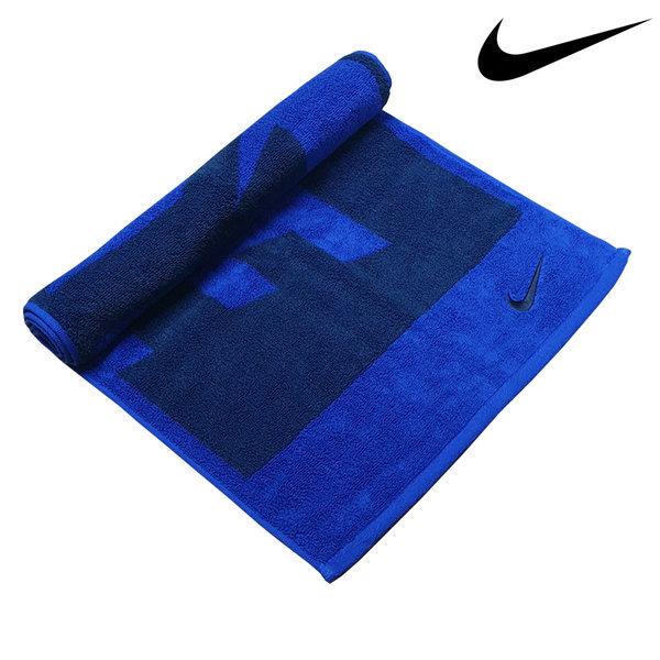 나이키 스포츠타올 자카드 블루블랙 M 수건 비치타올 상품이미지