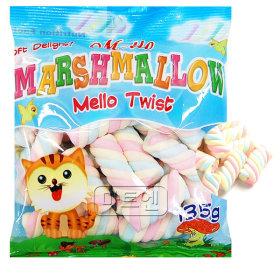 멜로 머쉬멜로우 트위스트 135g X 6개