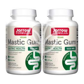 2개 매스틱 검 메스틱 분말 Mastic Gum 1000 mg 120 베지 캡슐 Jarrow Formulas 빠른직구
