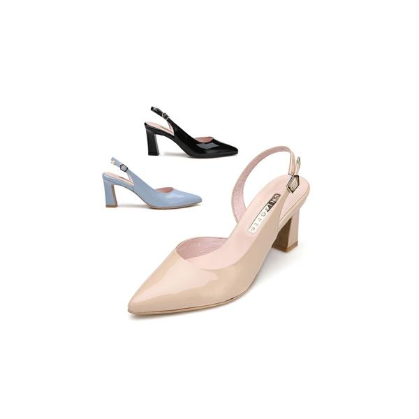 (현대백화점)미소페 여성 인사이드 오픈 슬링백 / 012012001 / 7cm 상품이미지