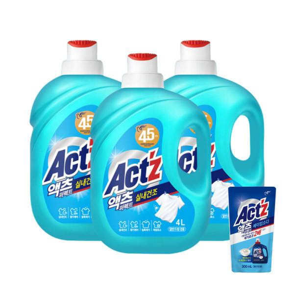 액체세제 액츠 퍼펙트 실내건조 3.2L일반용2개 상품이미지