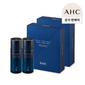 AHC 온리포맨 토너로션 2종 옴므 세트 2개/남자화장품