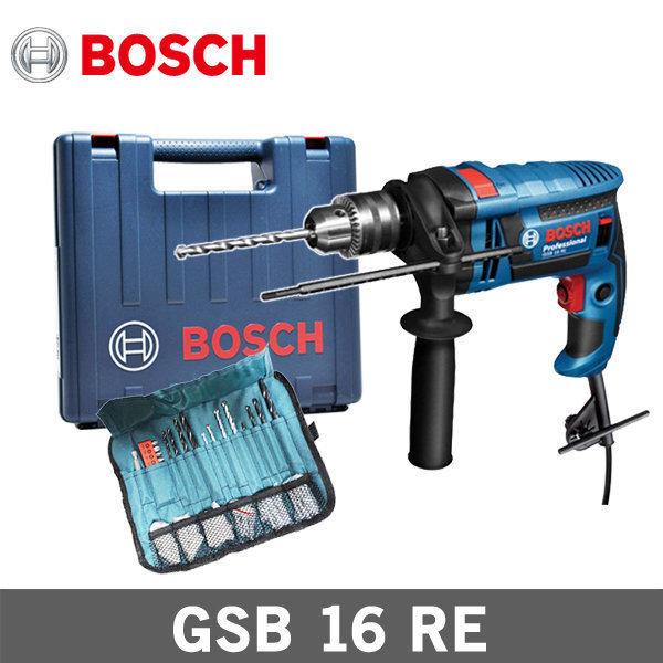 보쉬 햄머드릴 GSB16RE 750W 함마드릴 액세서리 포함 상품이미지