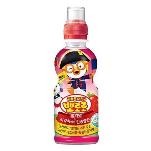 뽀로로 딸기 235ml x 24개입 박스포장 / 무료배송 상품이미지