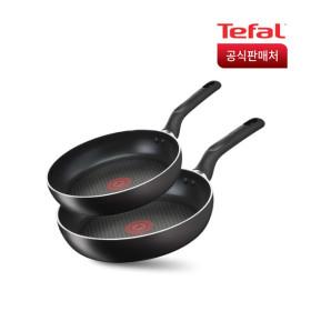 [테팔] 이노바시오 인덕션 프라이팬2종세트[팬24+팬28]