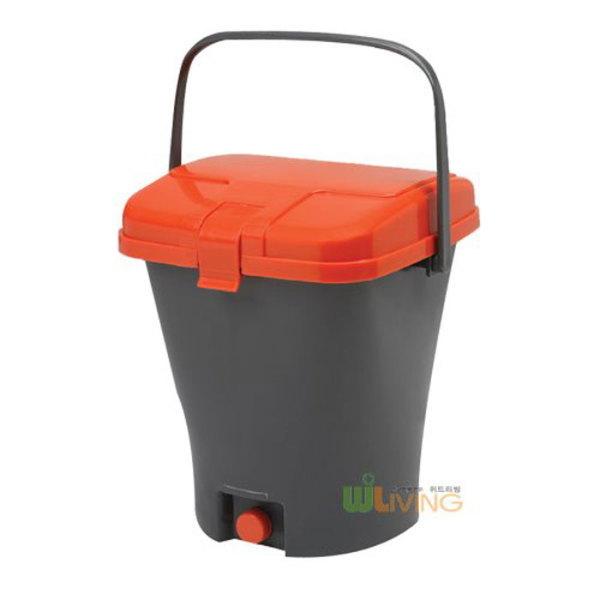 위드리빙  PP음식물쓰레기통 망내통형 PGB-12B /10L 상품이미지
