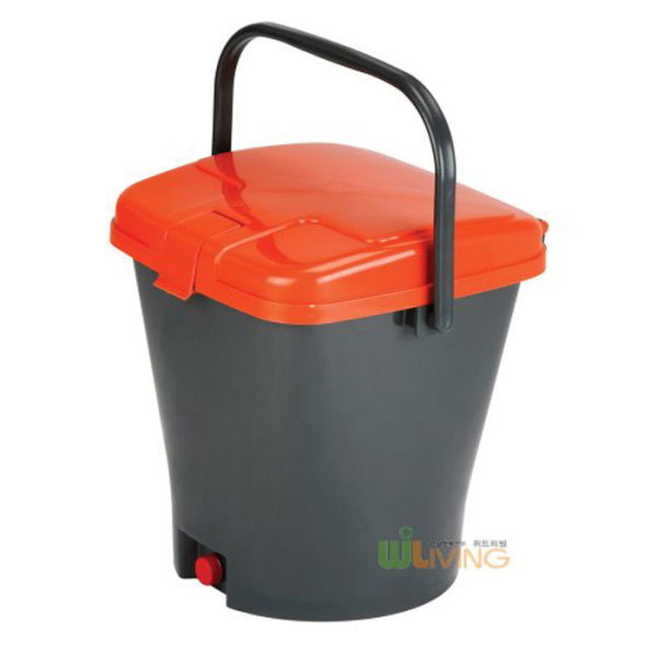 위드리빙  PP음식물쓰레기통 망내통형 PGB-25B /20L 상품이미지
