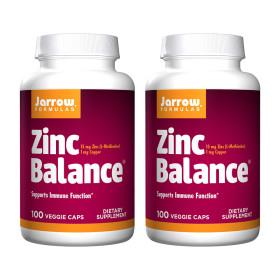 2개 Jarrow 아연 징크 Zinc 밸런스 15 mg 100 캡슐  빠른직구
