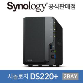 시놀로지NAS 2베이 DS220+ 아이언울프 4TB (2TBx2)