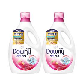 다우니 프리미엄 액체형 세제 핑크 2.8L 2개 +사은품