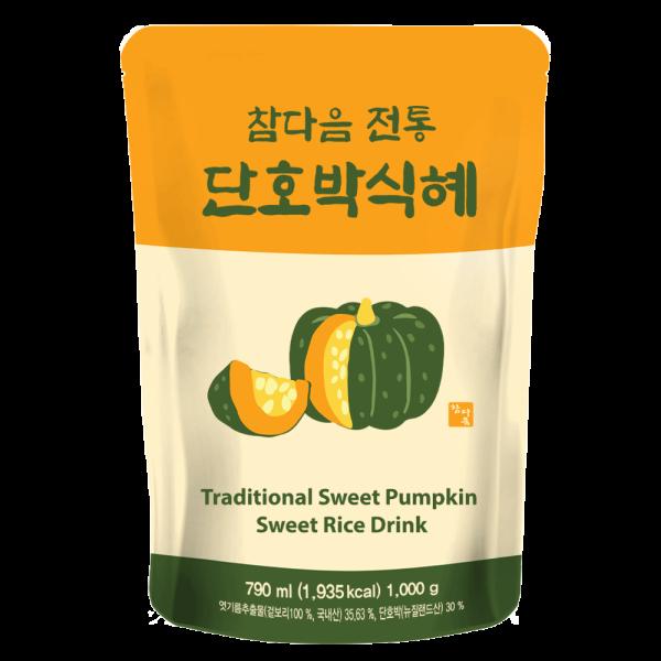 참다음 단호박전통식혜 790ml 5배희석/원액/음료베이스 상품이미지