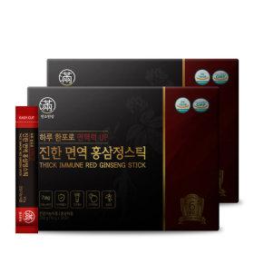 진한 면역 홍삼정스틱 2세트 쇼핑백증정
