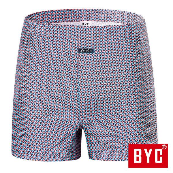 BYL6850 남성 트렁크 팬티 남자 사각 패턴 순면 속옷 상품이미지