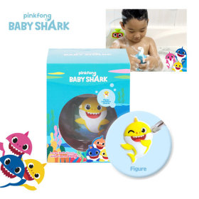 pinkfong Baby Shark Bath Agent 200g Silicon Doll included