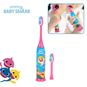 pinkfong BABY SHARK Electric Toothbrush Set