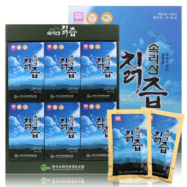 속리산 칡즙 36포/국산/칡/칡원액100%/한국고려인삼 상품이미지