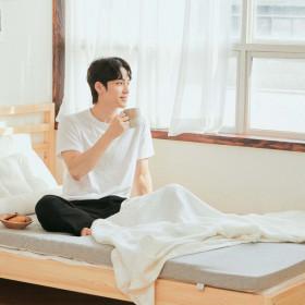 수면공감 송이토퍼 매트리스 거실매트 토퍼 침대용 Q