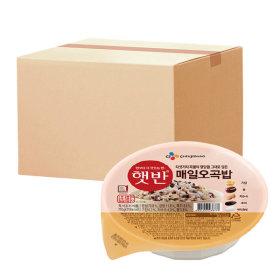 햇반 매일오곡밥 210g 24개