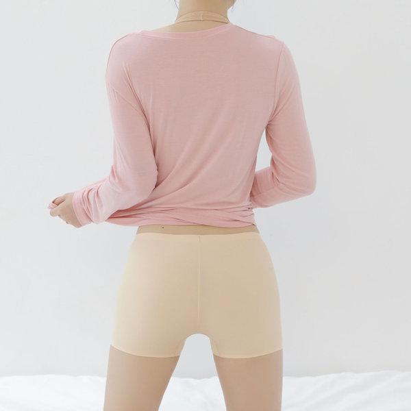 네모 팬티 노라인 슬림 3매 세트 택1 M L XL 사각 누디 상품이미지