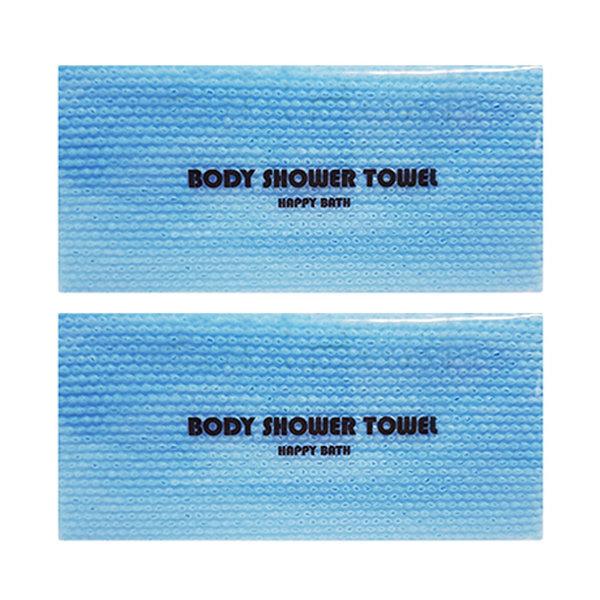 일회용 샤워타올 블루(비닐포장)   거품타올/샤워타월 상품이미지