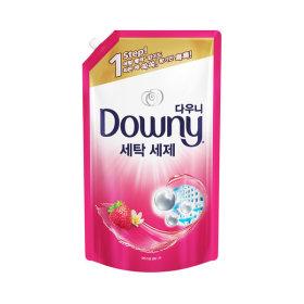 다우니 프리미엄 액체형 세탁세제 핑크 1.8L 1개