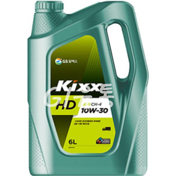 Kixx HD 10W30 6L 디젤 엔진오일 중소형 트럭 버스 DA 상품이미지