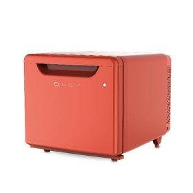 OLLY 저소음 소형 미니 냉장고 OLR02R 원룸 음료수
