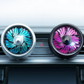 차량용 에어 써큘레이터/차량용선풍기 미니선풍기 1+1