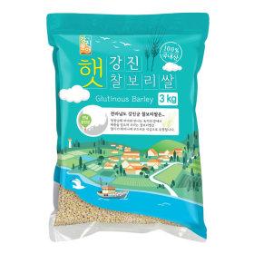 (1+1)강진_햇찰보리쌀_3KG 봉