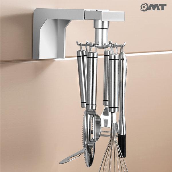 OMT 회전형 멀티 주방용 6구 조리도구걸이 OSO-P3 상품이미지