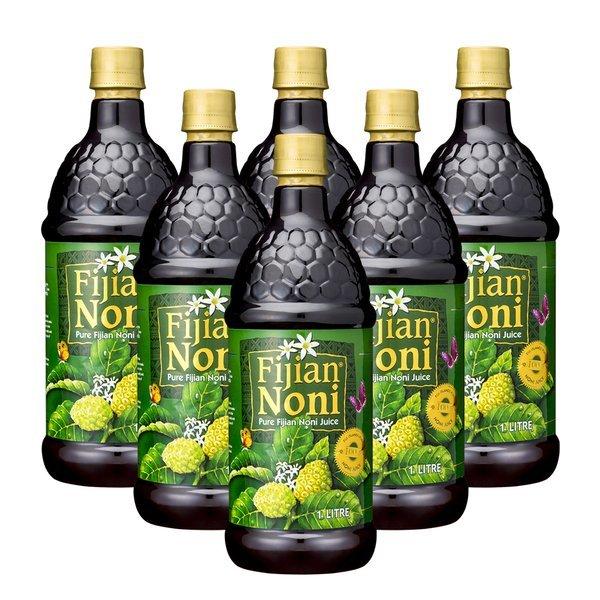 (헬스베버리지) (신세계경기점)퓨어 피지안 노니주스 원액 주스 1L   6병 상품이미지