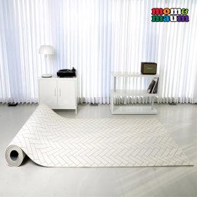 논슬립 발코니 화이트 150x200x1.2cm 놀이방매트 유아