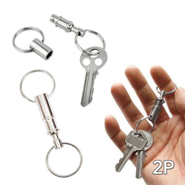 분리형 열쇠고리(2P)/키링 홀더/자동차 키홀더 상품이미지