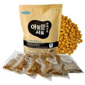 아침애 오리연어감자 강아지 사료 1kg