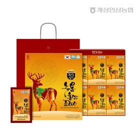개성상인 녹용홍삼플러스 70ml 30포 /6년근 홍삼