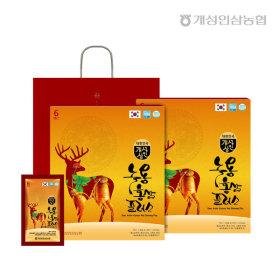 개성상인 녹용홍삼플러스 70ml 30포 1+1 /6년근 홍삼